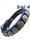 Lucky Number 5 Lederen Armband