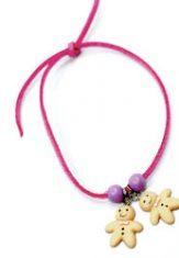 De 2 Koekenvrouwtjes Armband Roze