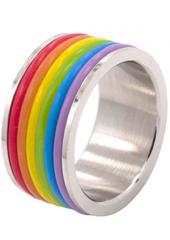 Rainbow Yolly Ring